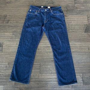 AG Protege Straight Leg Jeans Dark Wash Sz 33 x 30